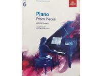 Grade 6 piano exam pieces 2017 & 2018