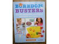 Kids Arts and Crafts - Craft activity book - Boredom Busters