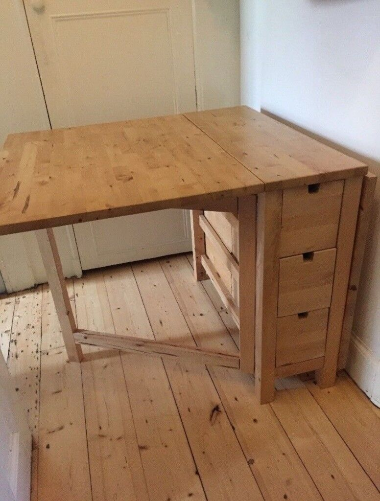Ikea Norden Gateleg Table Birch