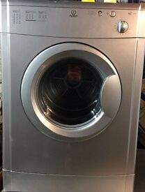 Indesit IS60VS 6kg Silver Vented Tumble Dryer with Reverse Action 1 YEAR GUARANTEE