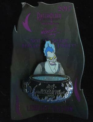 Mickey's Not So Scary Halloween Party 2017 Annual Passholder Hades LE Disney Pin](Disney Halloween Party 2017 Pins)