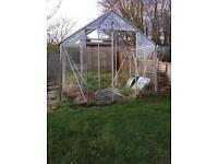 Free!! Large Glass Greenhouse.