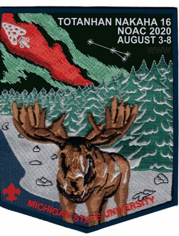 2020 NOAC Fundraiser Patch - Totanhan Nakaha Lodge