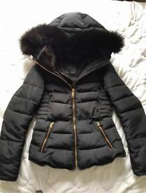 Zara Women's hooded coat