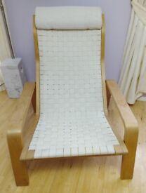 Vintage PULKKA ASKO Reclining Bentwood Chair