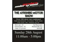 Ayrshire motor show