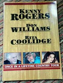 Kenny Rogers, Don Williams, Rita Coolidge Programme