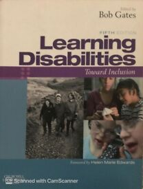 Learning Disabilities Study Book