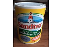 SANDTEX MASONRY PAINT SILVER BLUE 5 LITRES