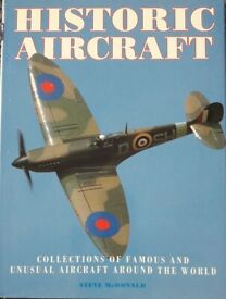 Historic Aircraft Books/book - Packaging costs are free if posted