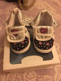 Ralph Lauren baby's shoes size 2,5