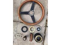 Eunos Roadster mx5 Nardi steering wheel and original equipment.