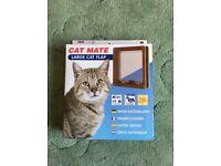 Cat Mate Large 4 Way Cat Flap (Brown Colour)