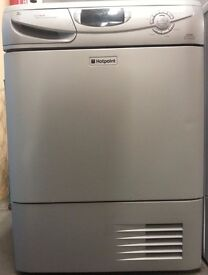 Hotpoint condenser Dryer CTD85/PCC58226, 3 month warranty, delivery available in Devon/Cornwall