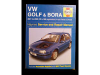 VW Golf Mk 4 Haynes Manual ('97-'04)