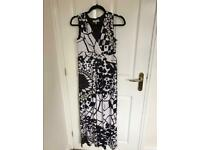 marks and spencers per una dress size 10 maxi