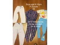 Boys age 9-10yrs PJ bundle