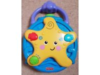 Fisher Price Ocean Wonders Projector Soother. Used- as New. In box, instructions & batteries inc.