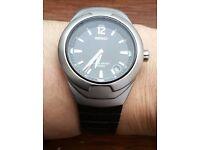 Seiko V742 50m Men's Watch