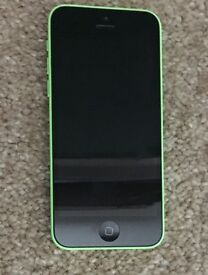 Apple iPhone 5C 16gb. Green casing. On EE Network. Very good condition