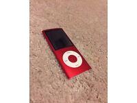 16GB Red 5th Gen iPod Nano.