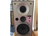 Vintage Technics SB-X3 linear phase speakers (1978)