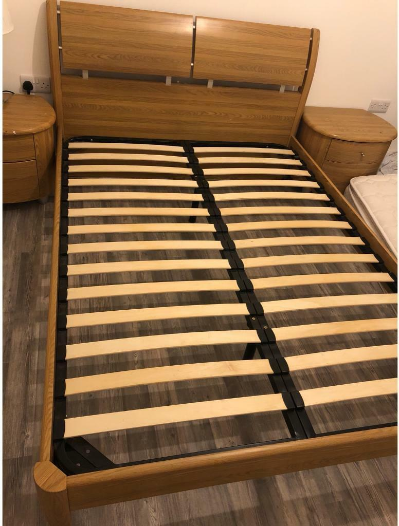 promo code a415f f684f Double bedframe and two bed stands for sale | in Glasgow | Gumtree
