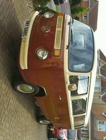 VW Type 2 1977 Bay Window campervan
