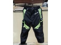PRO FIRST MOTORBIKE TROUSERS SIZE MEDIUM IN EXCELLENT CONDITION