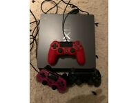 PS4 with 3 controllers for sale!
