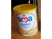 sma baby comfort milk