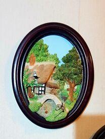 Lakeland Studios 3D Wall Plaque of Alport Mill