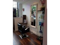 Hairdressing chair for rent in stylish newly opened salon