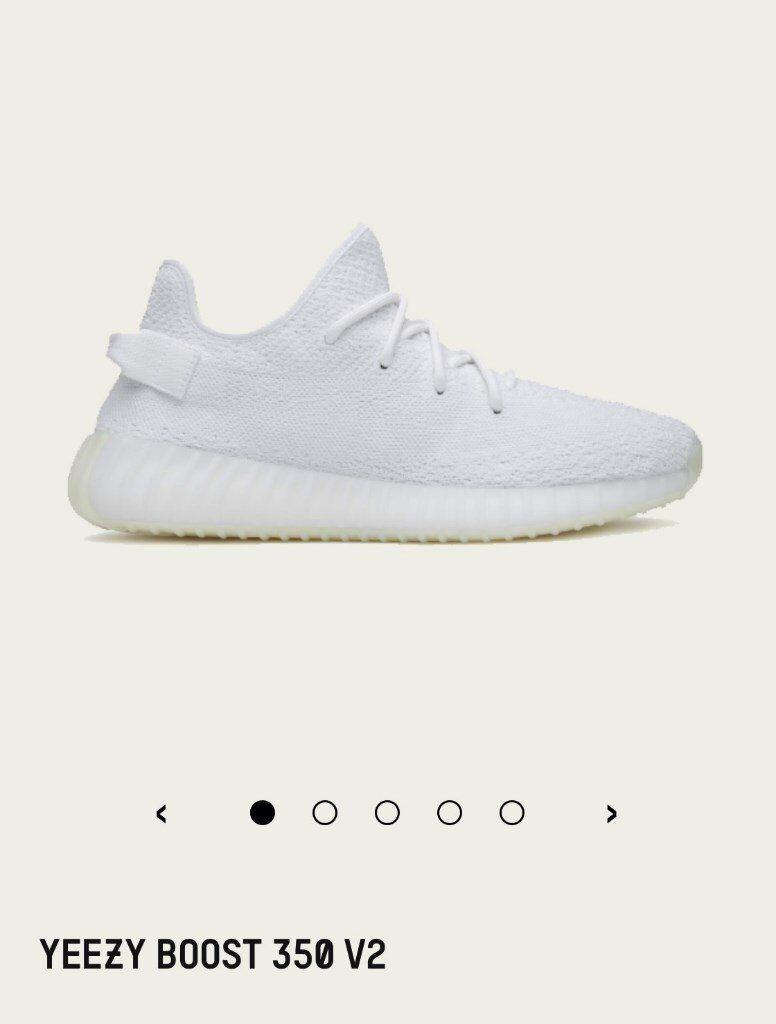 c831c87821c73 Adidas Yeezy Boost 350 V2 Triple White - Size 9 UK