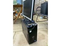DELL PC and MONITOR