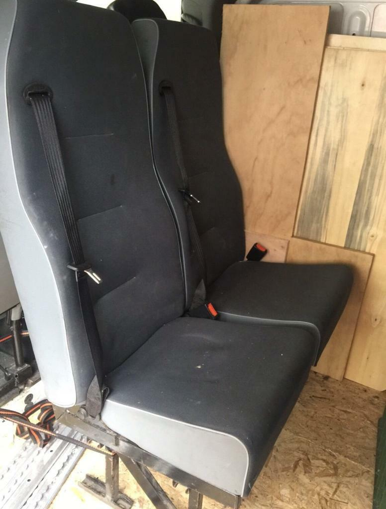 Bench seat with quick release fixings