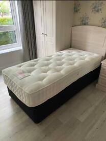 Single Bed Base And Mattress Immaculate Condition.