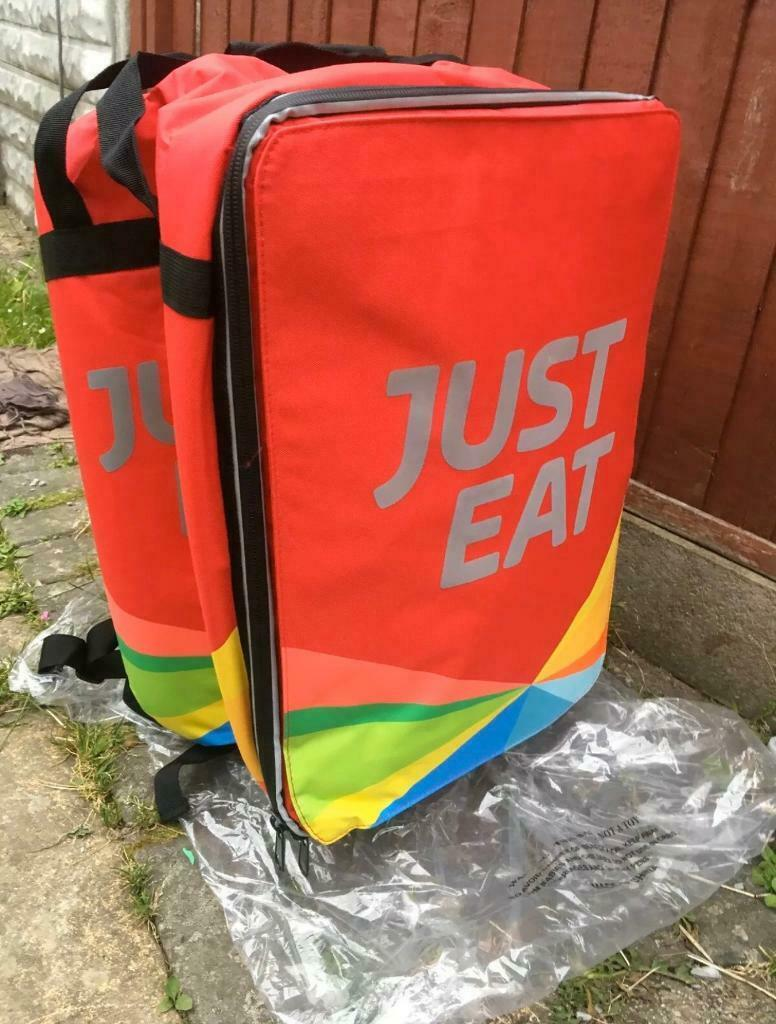 Just Eat Thermal Delivery Back Pack Brand New In Norwich Norfolk Gumtree