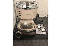 Delonghi Vintage Icona Espresso/latte Coffee Maker