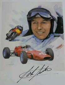 John Surtees hand signed 6x4 picture with COA