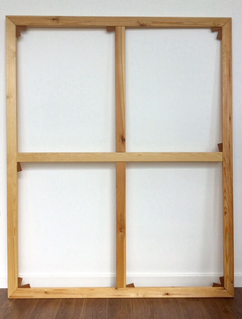 Canvas stretcher Bars Assembled Canvas Frame 150cm x 120cm | in ...