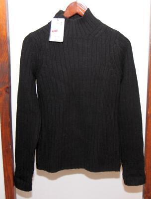 NWT Vintage Uniqlo +J Jil Sander Turtleneck Mockneck Sweater Black Men XS