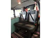 Brand New Ford Transit Rear Folding Seats VW T5 Transporter. Immaculate