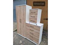 2 Door Plain wardrobe £250