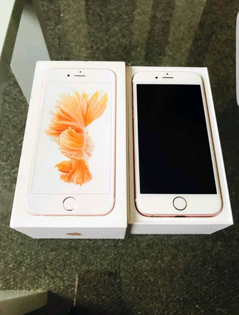 Iphone 6s rose gold 32gb full boxedin Newcastle, Tyne and WearGumtree - Iphone 6s rose gold fully boxed charger plus and unused headphones on 02 giffgaff and tesco mobile can deliver or collect from NE4