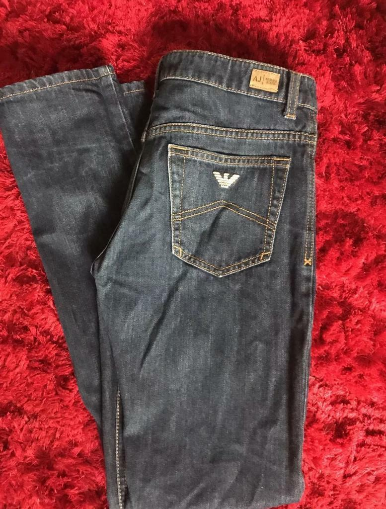 Boys Genuine Armani jeans age 12 years
