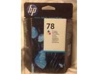 HP ink cartridge 78 tri colour