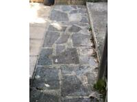 Patio Crazy Paving Stones for Free