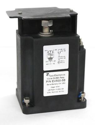 Tyco Electronics Kilovac BUBBA EV500-5B Relay, 24 Vdc Coil