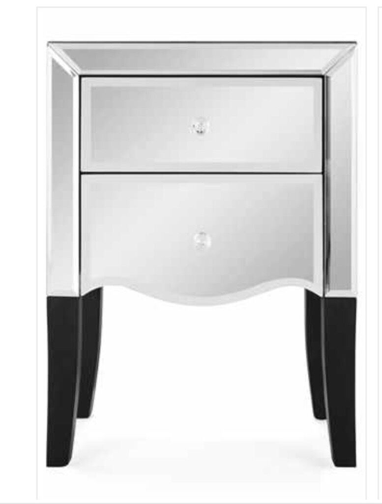 next mirrored furniture. 2x Next Gatsby Mirrored Glass Bedside Tables Furniture R
